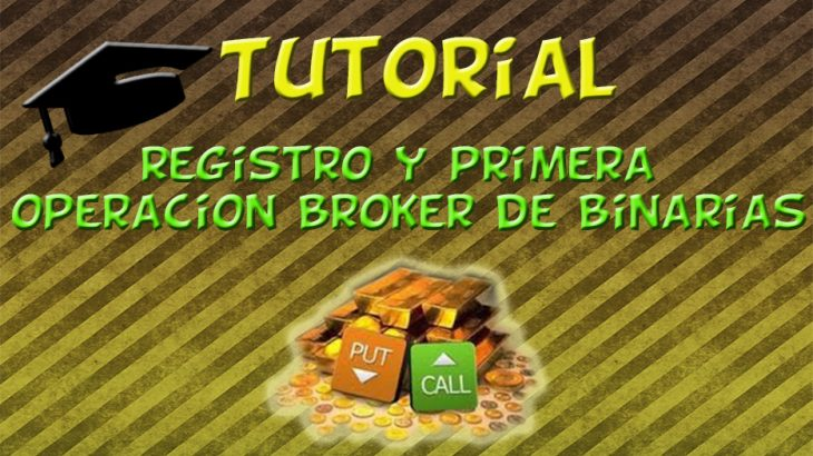Registro en un Broker de Binarias